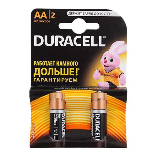 Батарейки Duracell LR6 AA (блистер 2шт.) фото